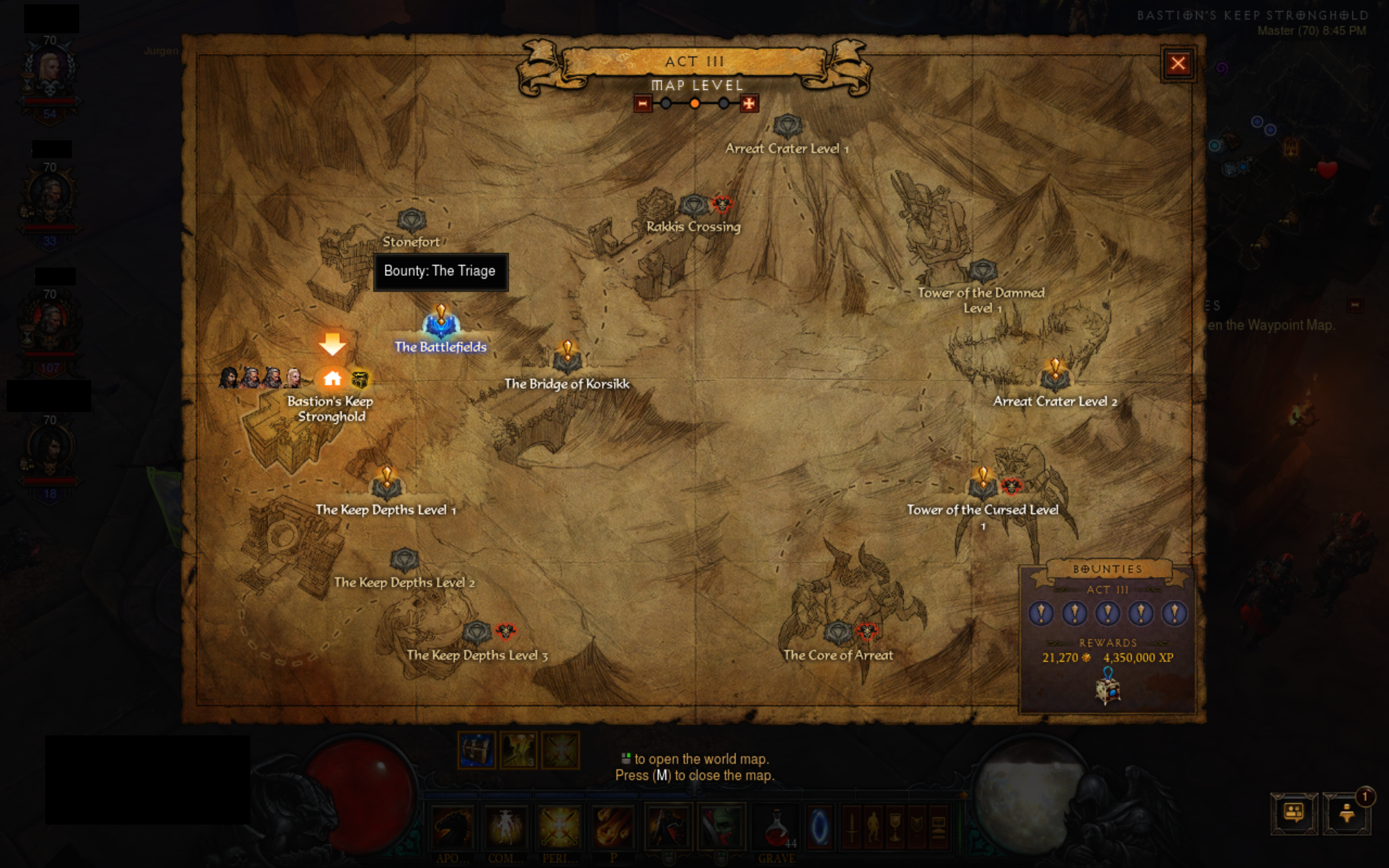 diablo 3 reaper of souls adventure mode everlasting twilight